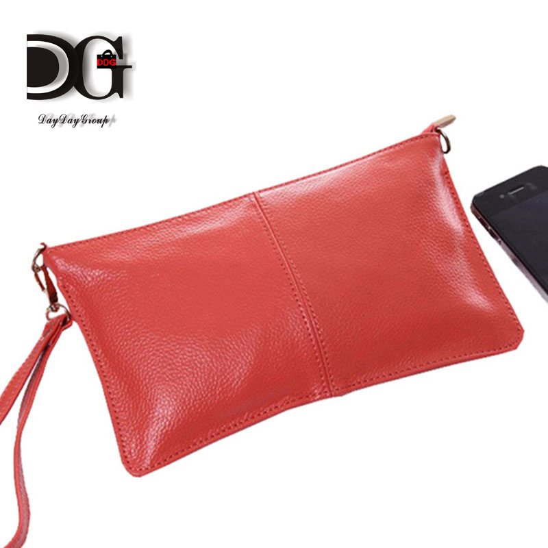 Sales Clutch Evening Bags Genuine Leather Mini real leather Handbags Women Purse Casual ladies Shoulder Bag  with Chains<br><br>Aliexpress