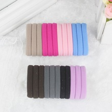 TS Hair accessory basic none seam tousheng ultra high elastic rubber band hair rope headband