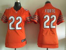 2016 Women Chicago Bears, 34 Walter Payton Kyle,17 Alshon Jeffery 22 Matt Forte Orange navy, 100% stitched logo(China (Mainland))