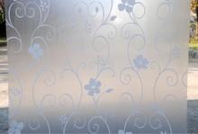 Утолщение и цвет заморожено окно стекло плёнка для ванная туалет и офис ( ширина 90 см ) 9519