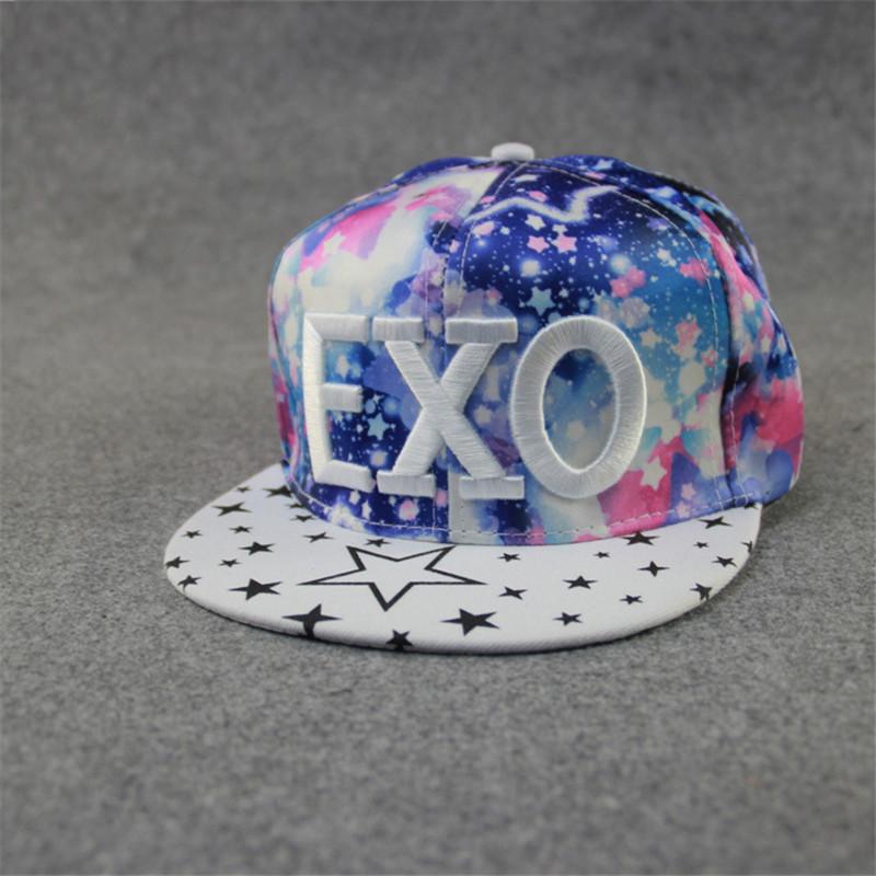 Incrível espaço estrela ajustável bonés de beisebol casuais 2015 hip-hop moda chapéus e bonés