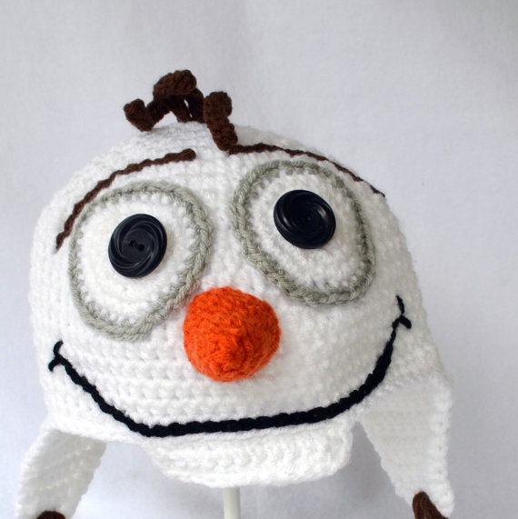 Crocheted Hat -Olaf inspired<br><br>Aliexpress