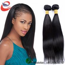 Best quality 6a grade brazilian virgin straight hair 100% Unprocessed Virgin remy Hair natural color 100g/piece Brazilian hair