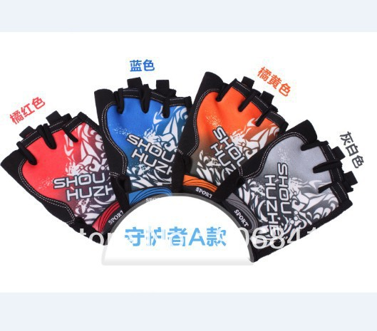 freeshipping riding gloves half finger cycling short equipped non-slip breathable sports - tdbike-light store