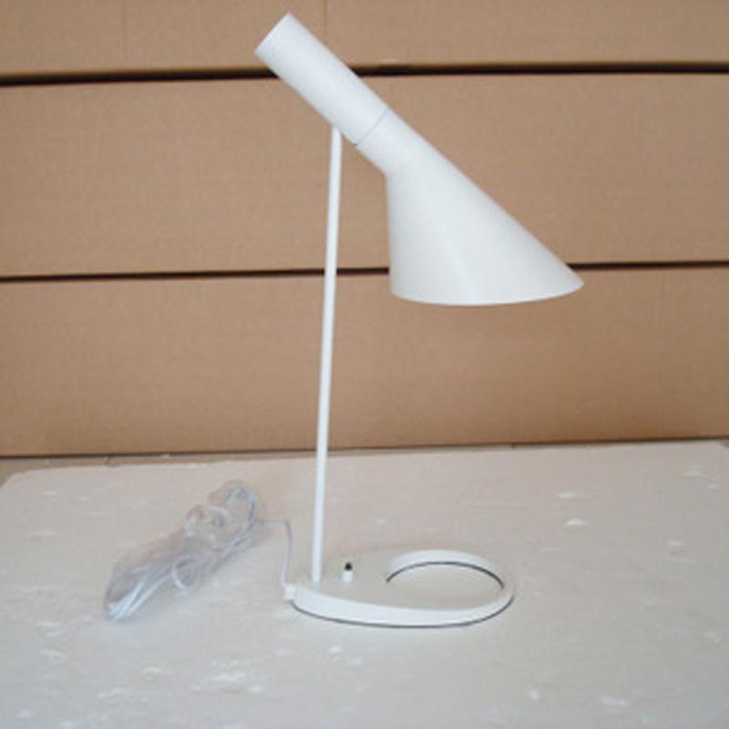 modern stylish Light Fixture AJ Table Lamp white/black led table lamp aj(China (Mainland))