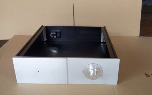 Full aluminum amplifier Enclosure/chassis/preamp case 274*308*80mm RC<br><br>Aliexpress