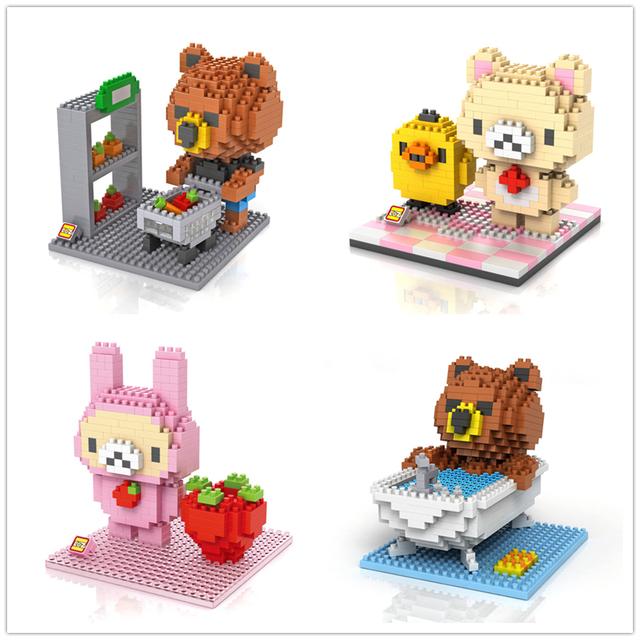 Алмазные частицы пластиковые игрушки строительные блоки сборки строительный блок игрушки пластиковые кирпичи WJ042-051