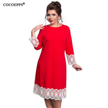 Buy 2017 Plus Size Women Clothing Floral Lace Women Dress Casual Bandage Dress 6XL 3 Colors Dress 5XL Party Summer Dress Vestidos for $14.96 in AliExpress store
