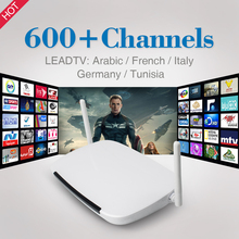 Buy Arabic IPTV Android Smart TV Box RK3128 Quad Core Wifi H.265 Set Top Box Free IPTV 600 Channels Arabic Europe French Italy for $57.06 in AliExpress store