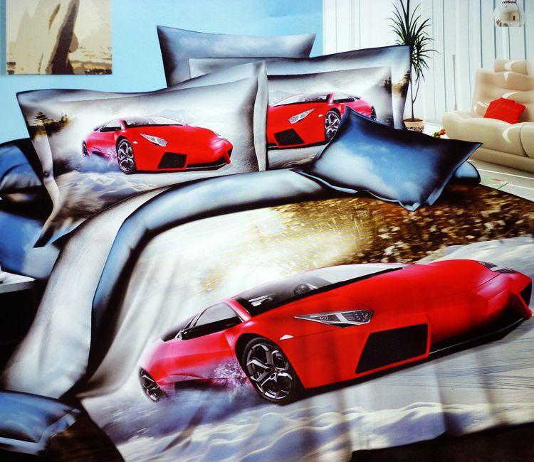 Racing Car Bedding Sets 3d Race Cars Cotton Bedding