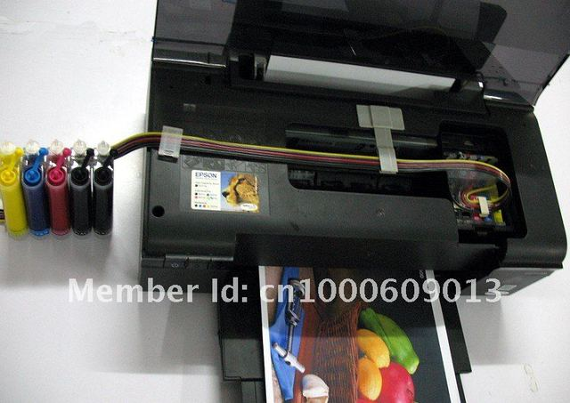 CISS for EPSON BX320 printer,  Empty, continuou ink supply system for BX320