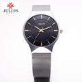 Fashion Top Luxury brand JULIUS Watches men Stainless Steel Mesh strap Quartz watch Ultra Thin Dial
