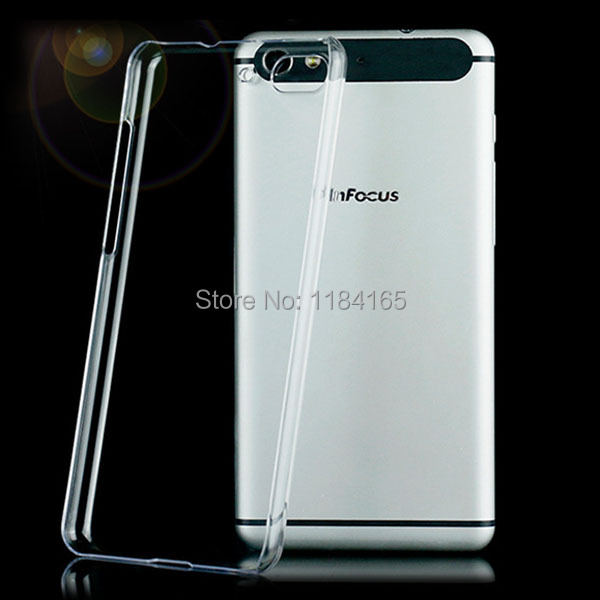 Ultra-thin Plastic Hard Back Case for Foxconn Infocus M560 / M808 Super Slim Housing Clear Cover Phone Accessories(China (Mainland))