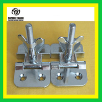 TJ wholesales screen printing Butterfly clip hinge clamps 2 picecs hot sales
