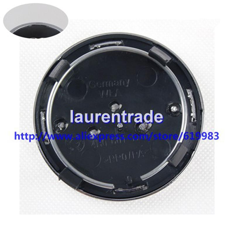 4pcs 69mm Gray/Black OEM Car Wheel Center Cap Car Rim Emblem Badge Fit for AUTO A4 A6 RS6 P/N:4B0 601 170A,4B0601170A hub caps(China (Mainland))
