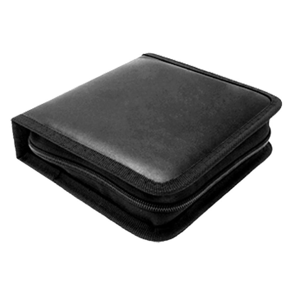 Portable Rectangle CD Carrying Storage Case Bag Holder Black<br><br>Aliexpress