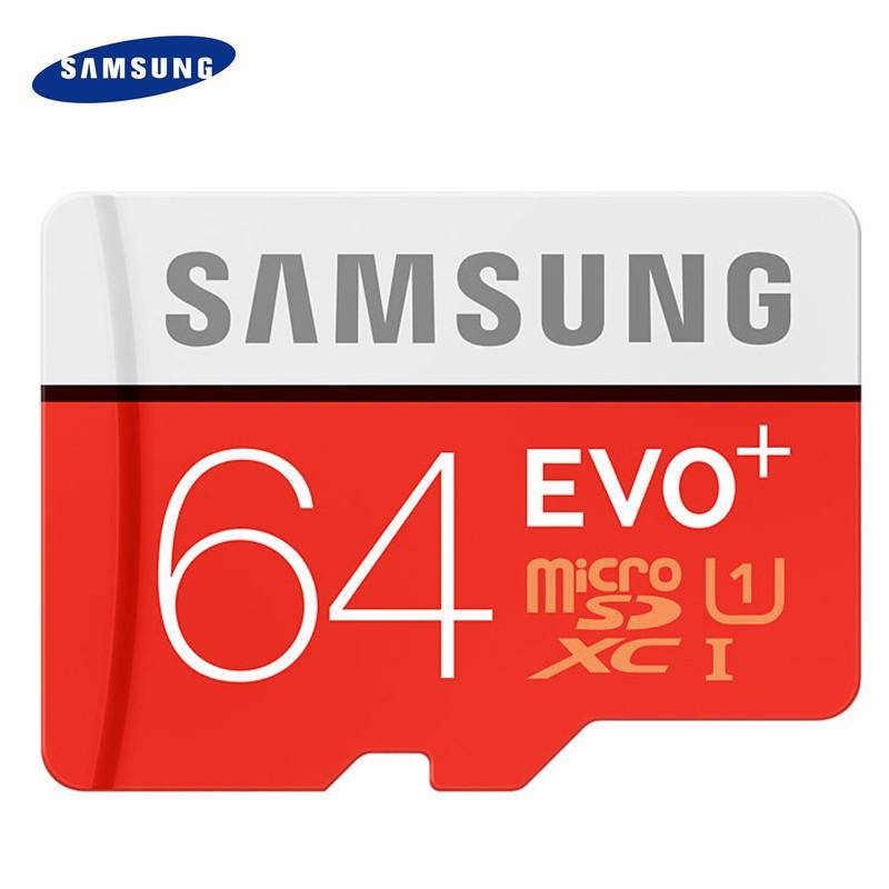Original SAMSUNG Grade EVO+ Class 10 Micro SD card 16GB 32GB SDHC TF/Memory Card SDXC 64GB 128GB UHS TF Microsd(China (Mainland))