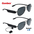 Gones Bluetooth Sunglasses Smart Wireless Game Glasses Eyewear Headphone Earphone Music Play Steelseries Headset Sport Airpods