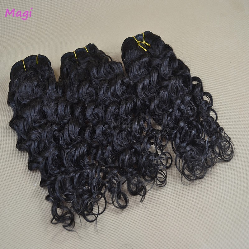 100g Unprocessed Deep Wave Virgin hair Full Ending Cheap Malaysian Deep Curly Virgin Hair