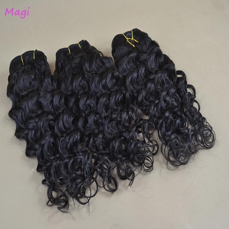 100g Unprocessed Deep Wave Virgin hair Full Ending Cheap Malaysian Deep Curly Virgin Hair