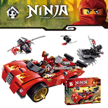 Ninja X-1 Charger Blocks Compatible with Lego Bricks with Action Figure Educational Toys Model Building Kits Toys for Kids