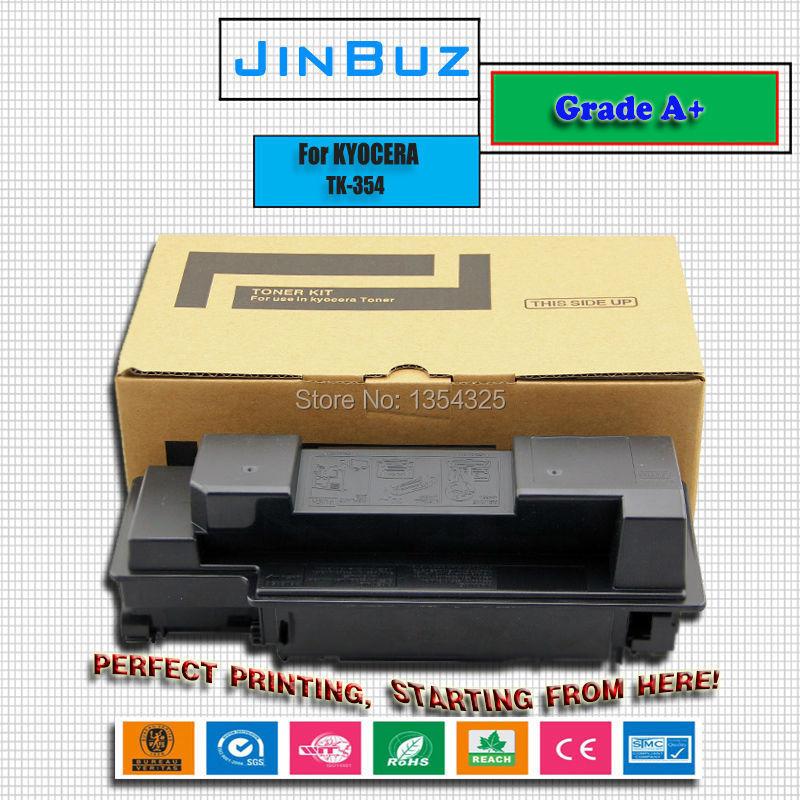 Compatible toner kit TK354 For Kyocera FS3920DN/FS3040MFP/FS3140MFP/FS3540MFP/FS3640MFP TK 354 toner cartridge Grade A+<br><br>Aliexpress