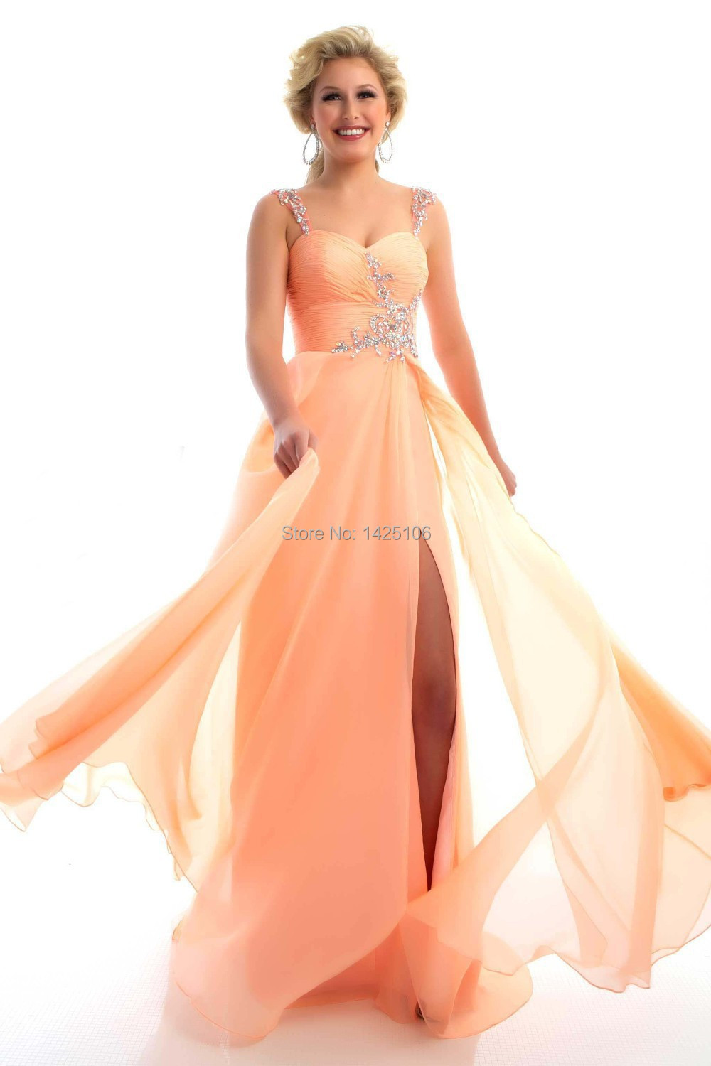 Awesome Melon Colored Prom Dresses Ensign - Colorful Wedding Dress ...