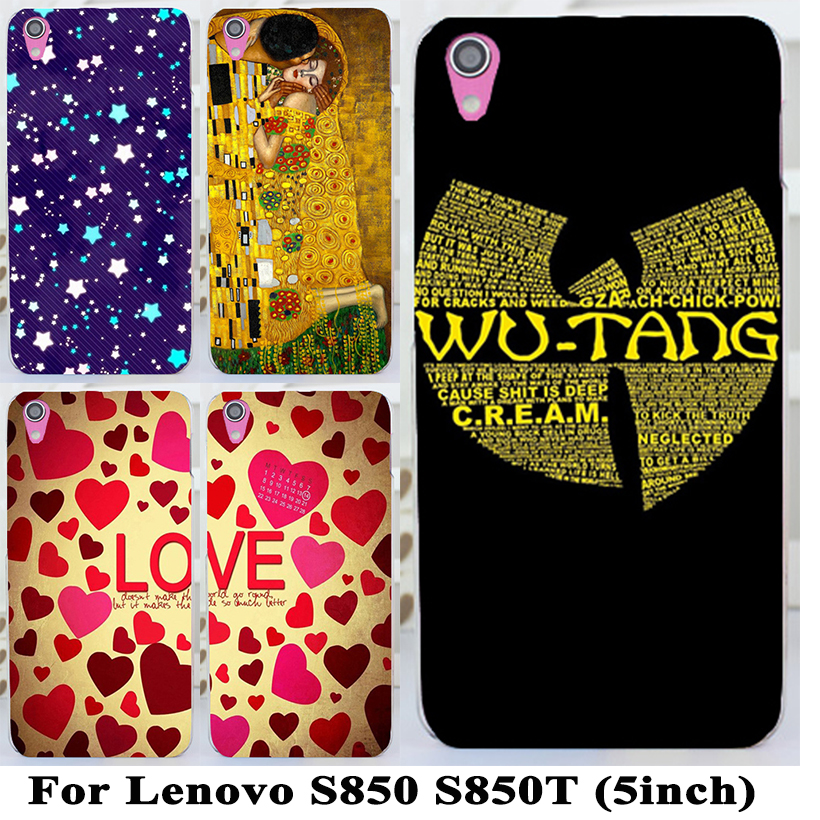 New arrival Mobile Phone Case For Lenovo S850 S850t High Quality Beautiful Loving Heart Hard Cover(China (Mainland))