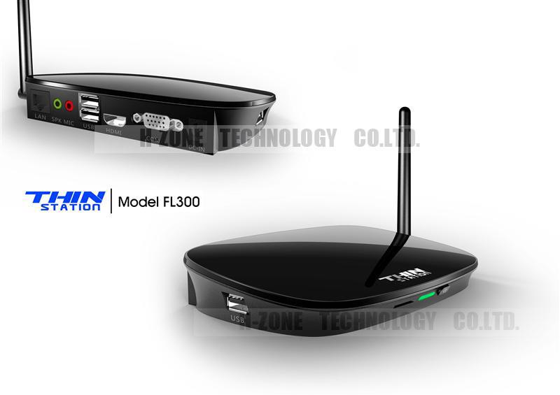 NEW Wireless Workstation Thin Client PC ARM A9 dual core 1ghz 512M RAM 512M Flash 1080P HDMI RDP 7.0 Thin client computer linux(Hong Kong)