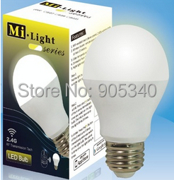2.4G Smart phone control E27 6W WiFi LED Bulbs Light Led Color Temperature adjustable Dimmable Global Lamp,Milight, - SHENZHEN HI-POWER LIGHTING LIMITED store