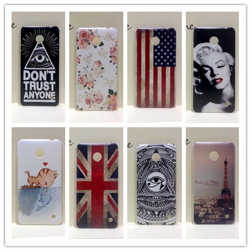 For Nokia Lumia 630 Phone case ,New Painting Hard PC Plastic Phone Case For Nokia Lumia 630 635 N630+Screen protector(China (Mainland))