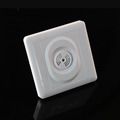 Free shipping 2pcs Hot Newest 110v 250V Sound light operated 86 switch Intelligent Lamps Motion Sensing