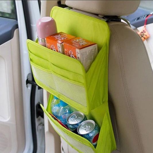 ACCESSORIES SNACK TRAVEL POCKET CAR REAR SEAT BACK ORGANIZER HOLDER STORAGE BAG HANGER CARGO NET TRUCK MESH(China (Mainland))