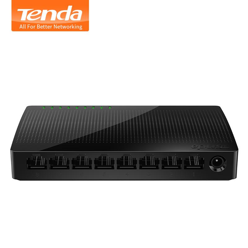 NEW Tenda SG108 Network 8 Port Gigabit Desktop Switch 10/100/1000Mbps Fast Ethernet Switcher Lan Hub Full/Half duplex Exchange(China (Mainland))