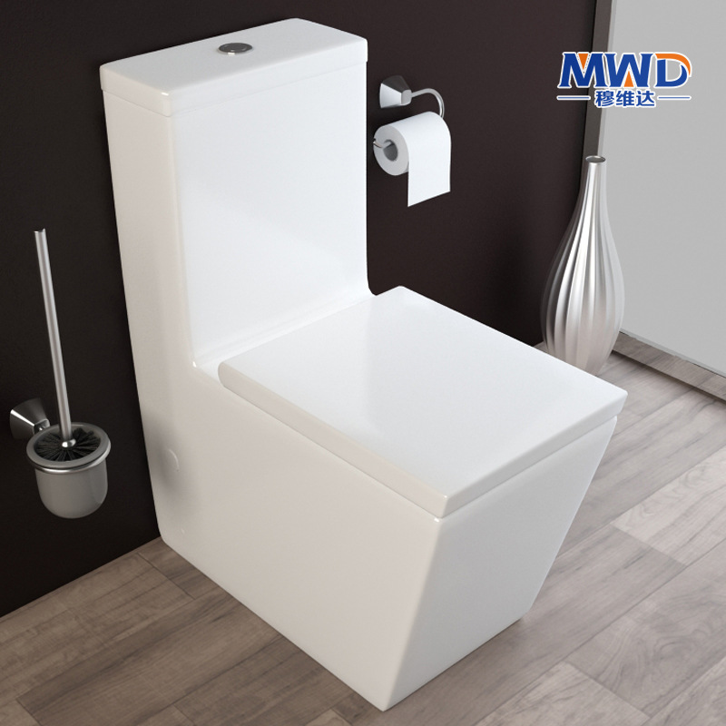 high end fashion square against the wall toilet toilet jet. Black Bedroom Furniture Sets. Home Design Ideas