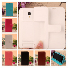 For IRBIS SP42 Case High Quality Mobile Phone Cases Fashion PU Leather Silicon Soft Back Free Shipping