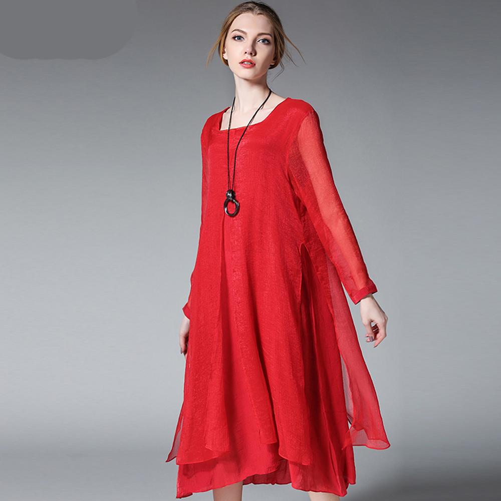 vestido de t nica de gasa de seda compra lotes baratos de vestido de t nica de gasa de seda de. Black Bedroom Furniture Sets. Home Design Ideas