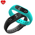 Heart Rate Smart Wristbands Band Smart Bracelet Bluetooth Smartband Fitness MI2 Wristband 2 with LED Display