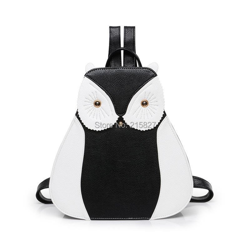 HOT Fashion Women Backpack Embossed PU Leather Backpack Owl School Bag Female Shoulder Bag Travel Bag Women Backpack Sack Bolsa(China (Mainland))