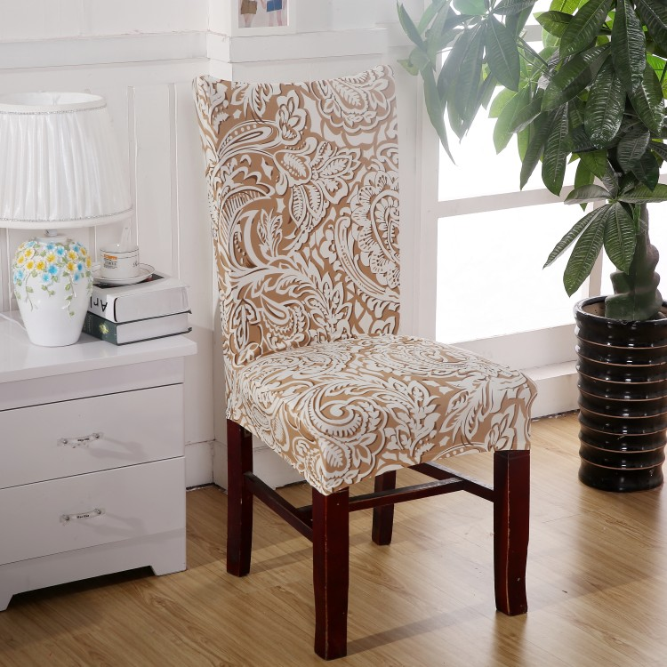 Nice quality universal chair covers fashionalbe spandex for Housse lycra