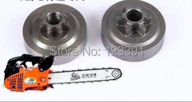 Free shipping of high quality chain saw accessories sprocket/clutch plate/clutch disc for mini bamboo cutting ST 2500 Chain saw<br><br>Aliexpress