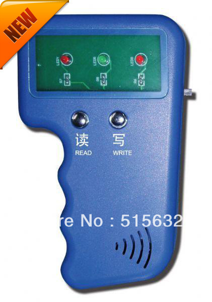 Hand-hold RFID Reader Writer 125KHz ID Card Keyfob duplicator Duplicate Copy with retail box<br><br>Aliexpress
