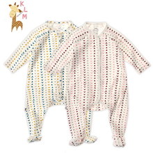 Kids Love Mummy 5pcs/lot Spring Winter Autumn Unisex Infant Baby Kids Boys Girls One Piece Romper 100% Finely-Combed Cotton(China (Mainland))
