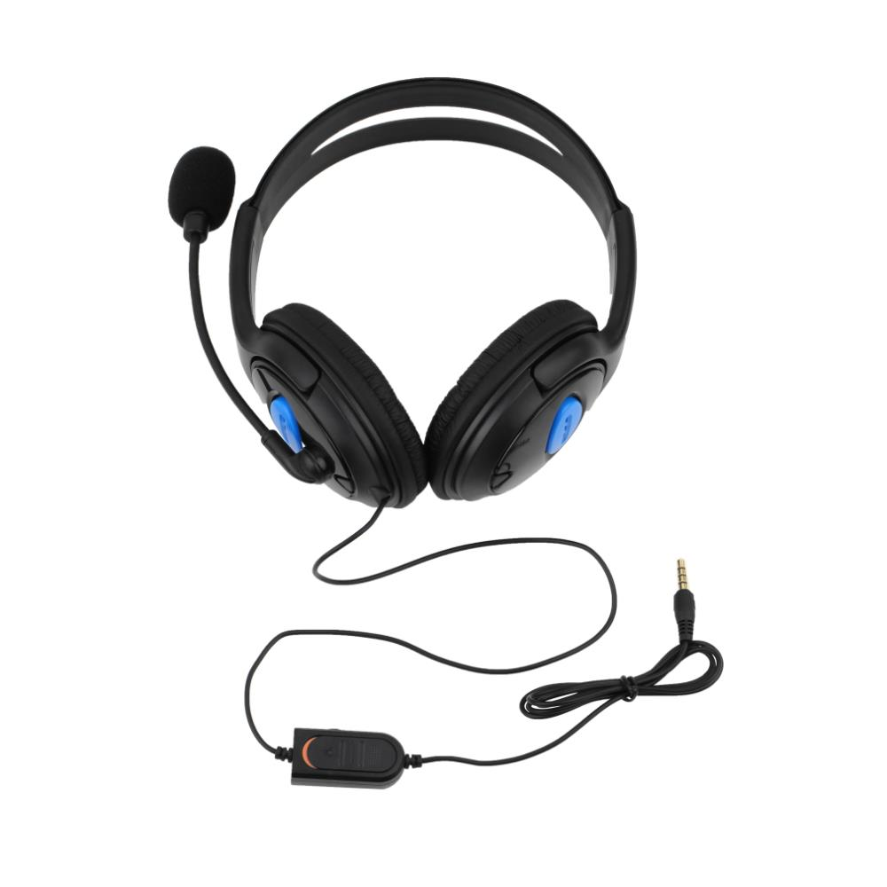 Wired Gaming Headset Headphones with Microphone for Sony PS4 for PlayStation 4 Wholesale(China (Mainland))