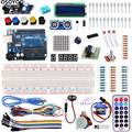 UnO R3 Kit Upgraded For Arduino Starter Kit Basic Learning Suite Stepper Motor Breadboard LCD1602 LED