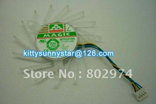 Free shipping MAGIC MBT7012XF-W20 12V 0.28A NVIDIA Fan,cooling Fan(China (Mainland))