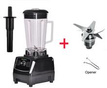 EU/REINO UNIDO/EUA/AU Plug 3HP 2200 w BPA LIVRE 2L classe comercial liquidificador smoothie de gelo profissional misturador processador de alimentos juicer 220 v/110 v(China)