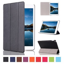 Ultra thin smart slim cover leather case new arrival for 2015 Apple Ipad mini 4 leather cover case +free stylus as gift(China (Mainland))