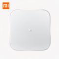 Original xiaomi Mijia Smart Weighing Scale Mi Electronic Scales Balance Bascula Digital Support Smart Phone IOS