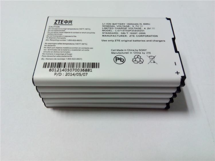 ZTE AC30 U960 AC30S N790 R519C U230 MF30 U722 U790 U600 A6 A8 MF51 MF60 MF61 MF62 3G WIFI Router LI3715T42P3H654251 Battery(China (Mainland))